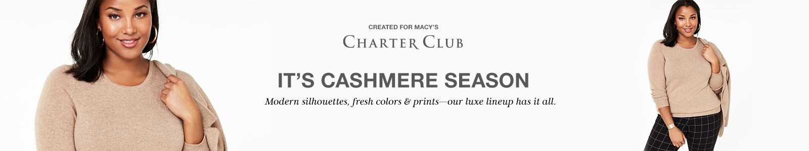 Created For Macy's, Charter Club, Its, Cashmere Season