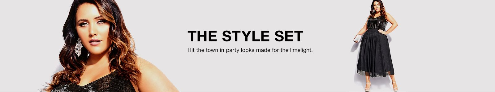 The Style Set, Hit the town in party looks made for the limelight