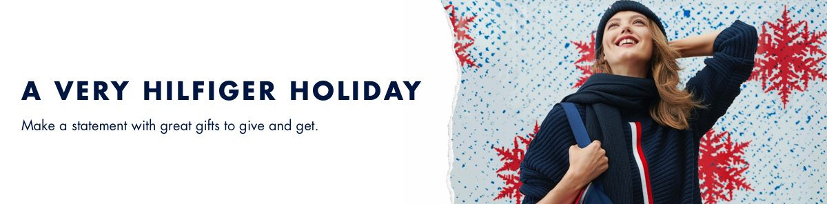 A Very Hilfiger Holiday, Make a statement with great gifts to give and get