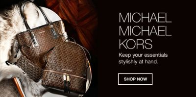 Michael Kors Keep Your Essentials Stylishly At Hand Now