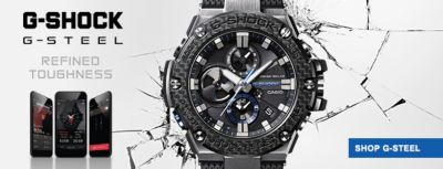 G-Shcok G-Steel, Refined Toughness, Shop G-Steel