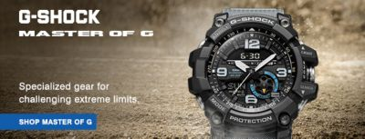 G-Shock Master of G, Shop Master of G
