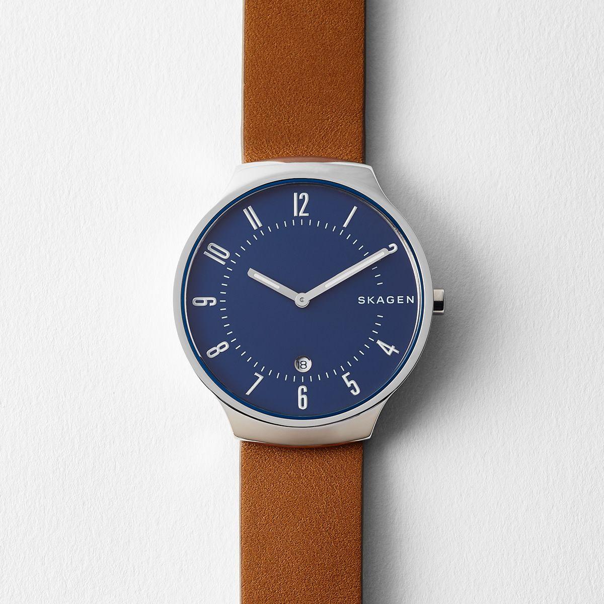 9c6ba699bdf Skagen Mens Watches - Macy s