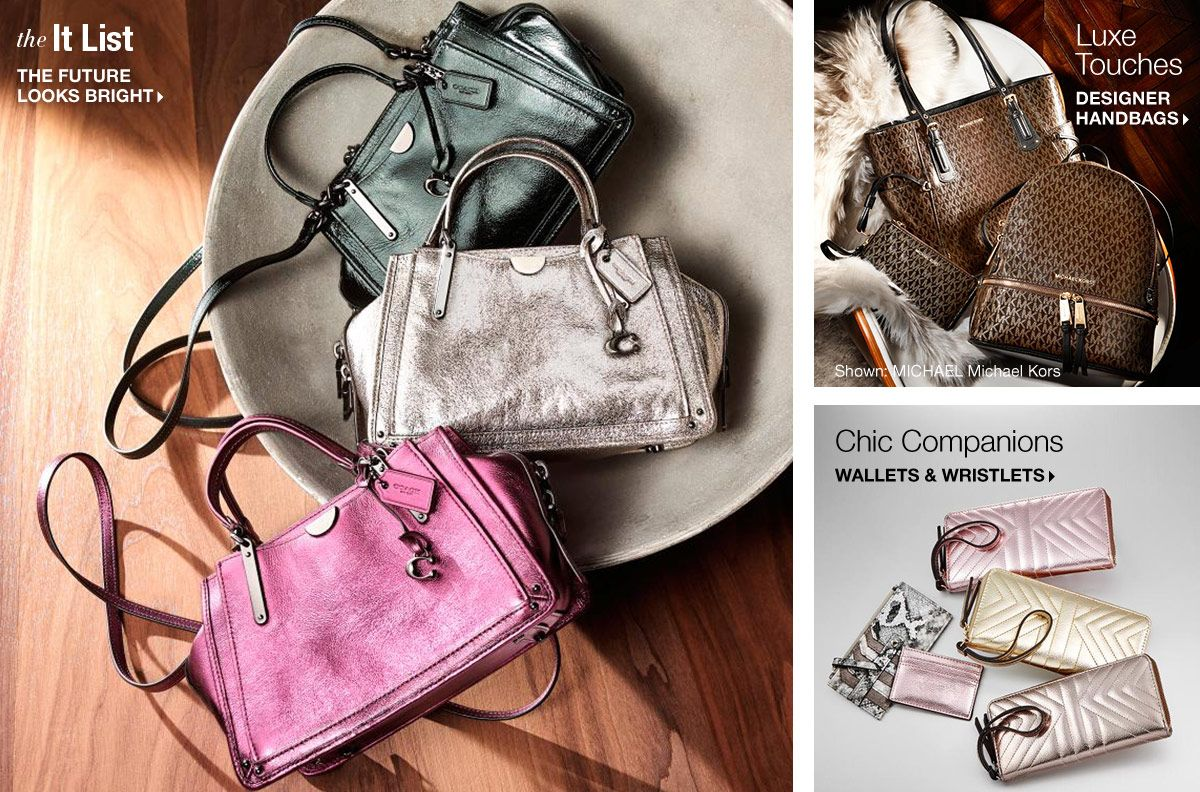 Handbags And Accessories Macys Clutches Evening Bags Crossbody Hobo Shoulder Top The It List Furniture Looks Bright Luxe Touches Designer Chic