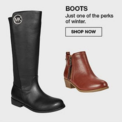Boots, Just one of the perks of winter, Shop Now