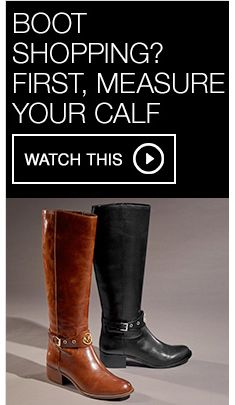 b17d56a956c Boot Shopping? First, Measure Your Calf, Watch This. Frye Women's Jennifer Ankle  Booties, Created for Macy's