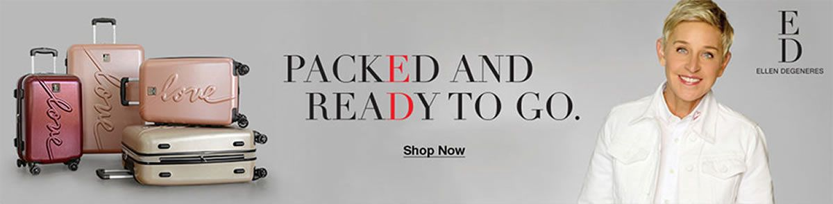 Packed and Ready to go, Shop Now