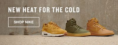 New Heat For The Cold, Shop Nike