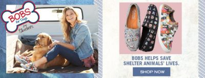 Bobs for Dogs, Bobs Helps Save Shelter Animals' Lives, Shop Now