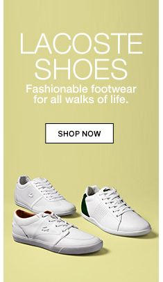 f03d876f66e11 Lacoste shoes, Fashionable footwear for all walks of life, shop now