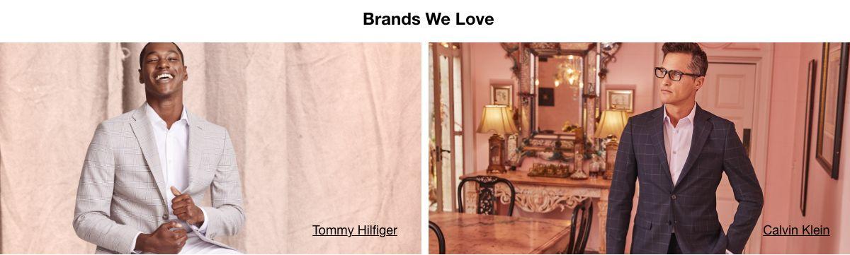 Brands We Love, Tommy Hilfiger, Calvin Klein