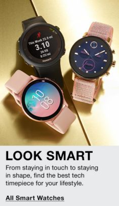 Look Smart, From staying in touch to staying in shape, find the best tech timepiece for your lifestyle, All Smart Watches