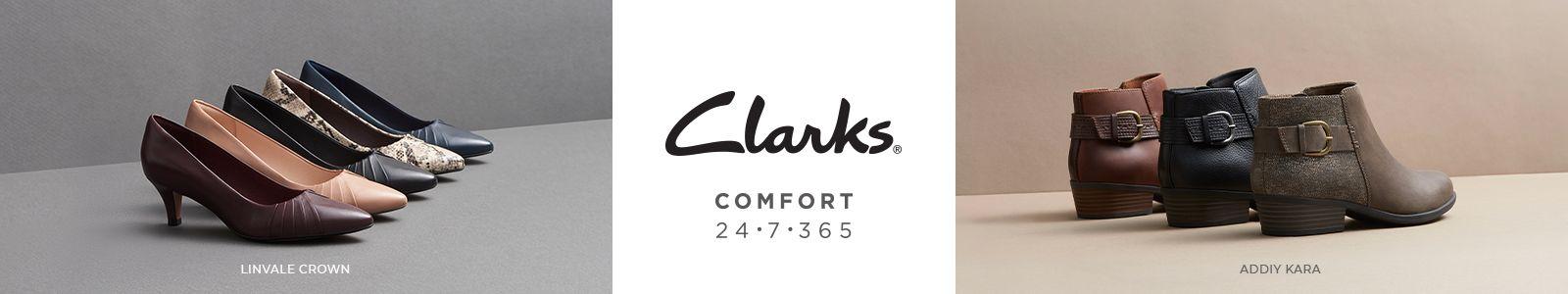 Clarks, Comfort, 24.7.365, Linvale Crown, Addiy Kara