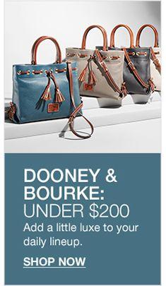 Dooney And Bourke Under 200 Now