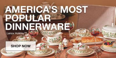 America's Most Popular Dinnerware, Shop Now