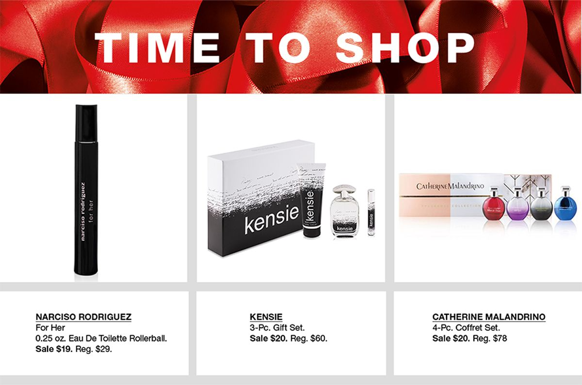 Time to Shop, Narciso Rodriguez, Kensie, Catherine Malandrino