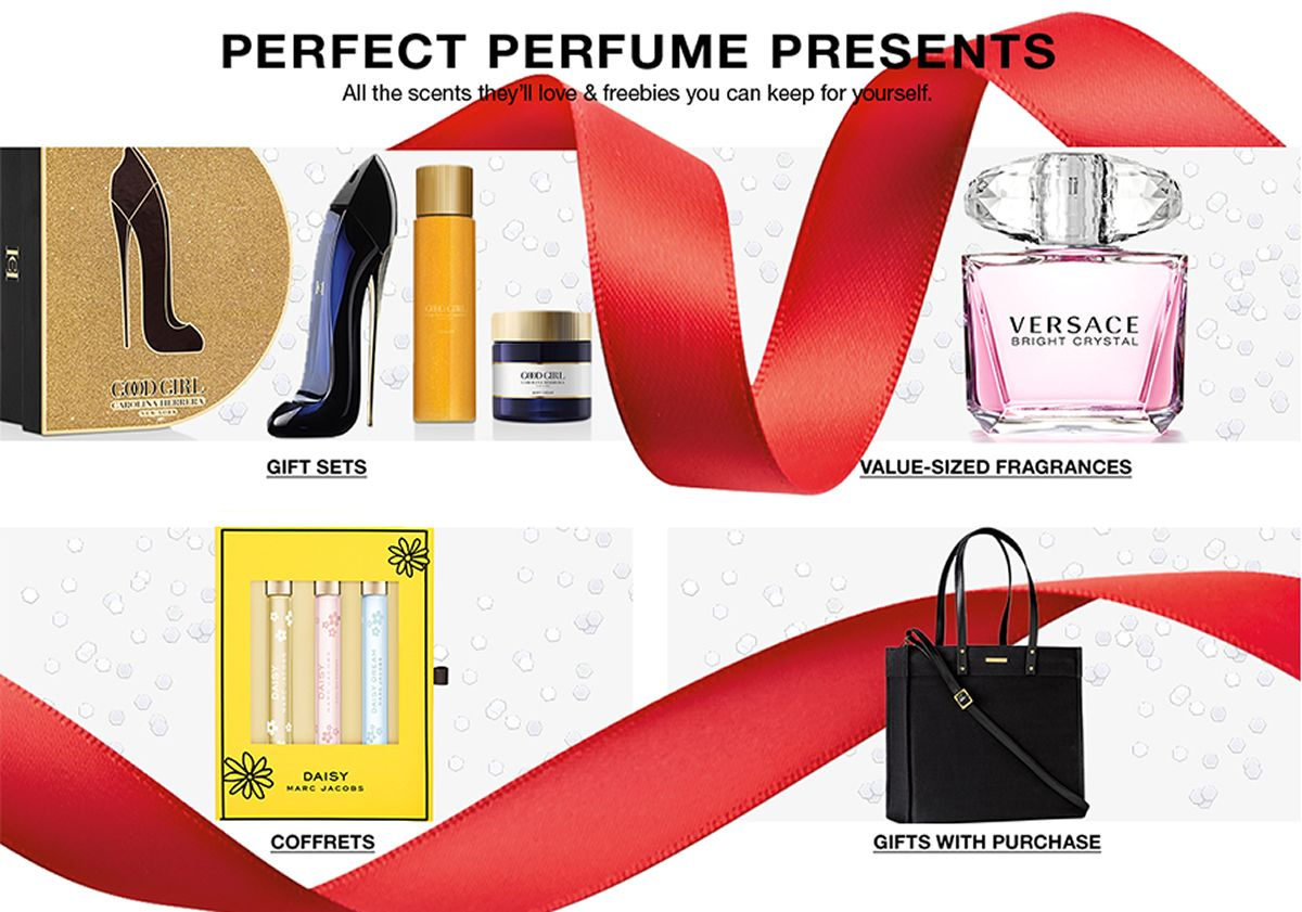 Perfect Perfume Presents, Gift Sets, Value-Sized Fragrances, Coffrets, Gifts With Purchase