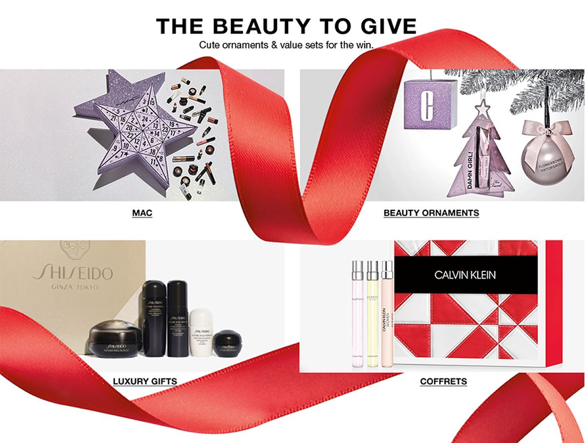 The Beauty to Give, Cute ornaments and value sets for the win, MAC, Beauty Ornaments, Luxury Gifts, Coffrets