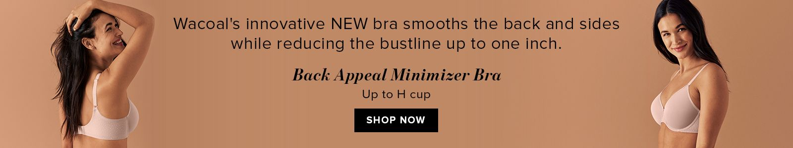 Back Appeal Minimizer Bra, up to H cup Shop Now