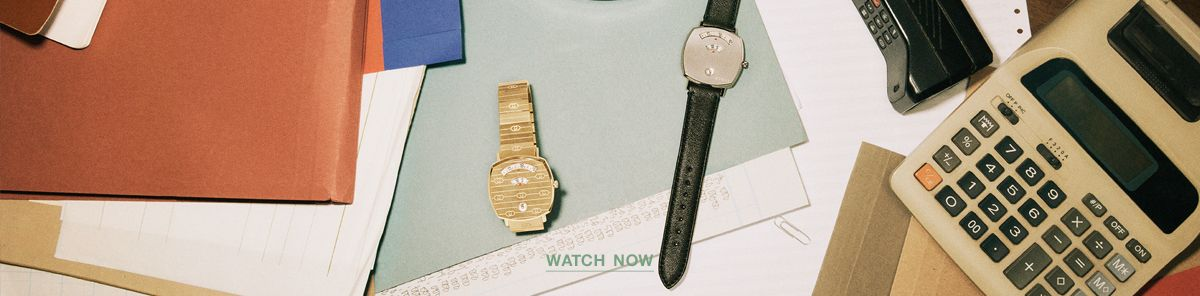 Gucci Watch Now