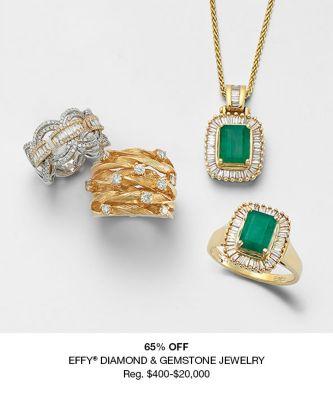 65 percent off Effy Diamond and Gemstone Jewelry