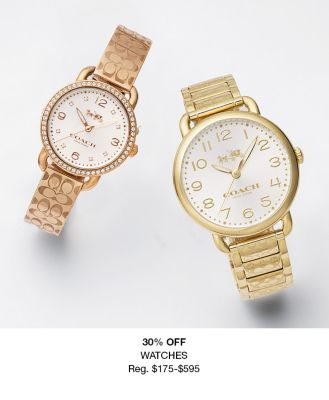 30 percent Off, Watches