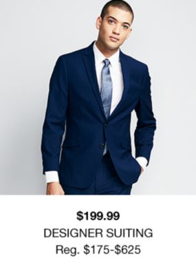 $199.99, Designer Suiting