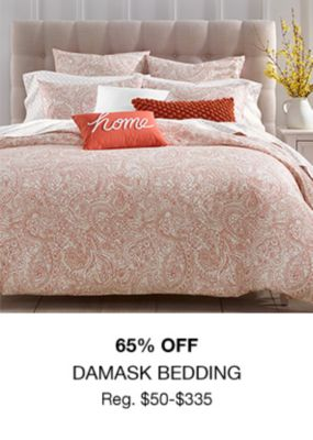 65 percent Off, Damask Bedding
