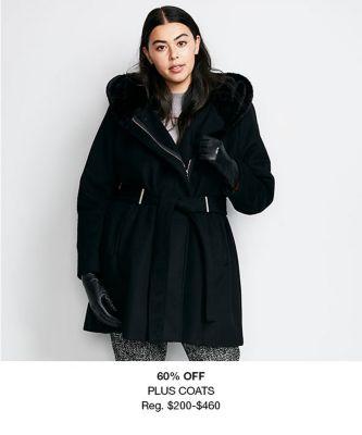 60 percent Off Plus Coats