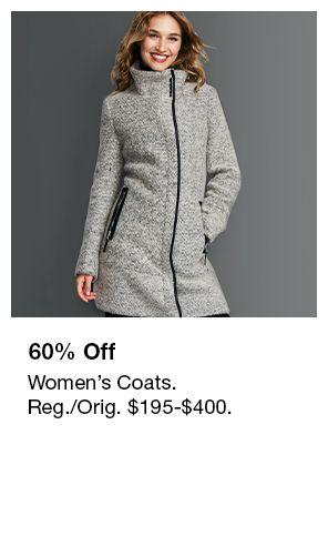 60 Percent off, Women's Coats
