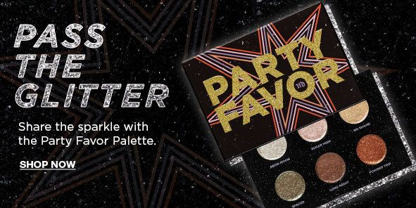 Pass The Glitter, Share the sparkle with the Party Favor Palette, Shop Now