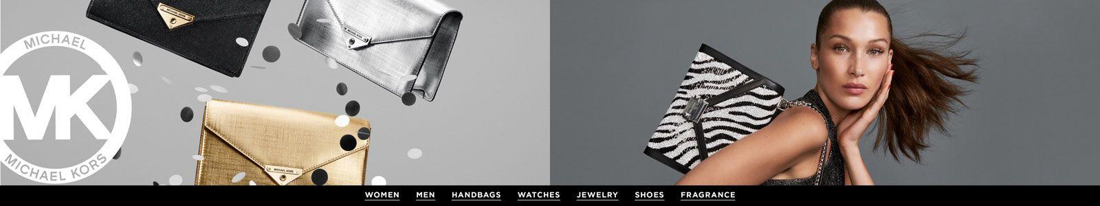 Michael Kors, Women, Mens, Handbags, Watches, Jewelry Shoes, Fragrance
