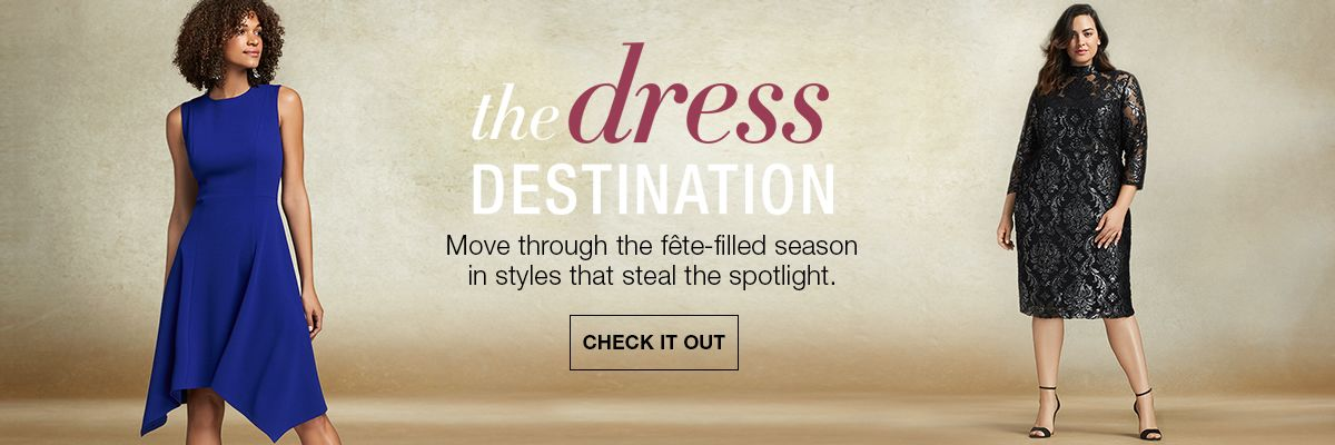 the dress destination move through the fete filled season in styles that steal the