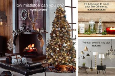 How Mistletoe Can You Go? Home Accents, Itu0027s Beginning To Smell A Lot Like