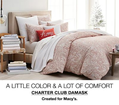 A Little Color and a Lot of Comfort, Charter Club Damask, Created for Macy's