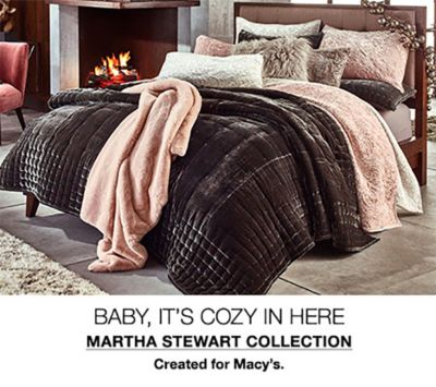 Baby, It's Cozy in Here, Martha Stewart Collection, Created for Macy's