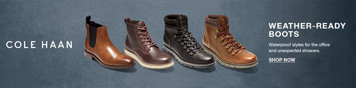 Cole Haan, Weather-Ready Boots, Shop Now
