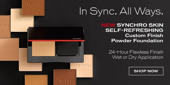 In Sync, All Ways, 24 Hours Flawless Finish Wet or Dry Application Shop Now
