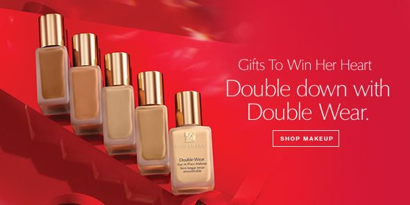 Gift to Win Her Heart, Double down with Double Wear, Shop Makeup