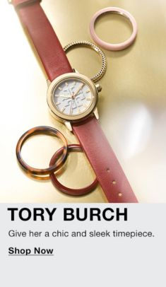Tory Burch, Give her a chic and sleek timepiece, Shop Now