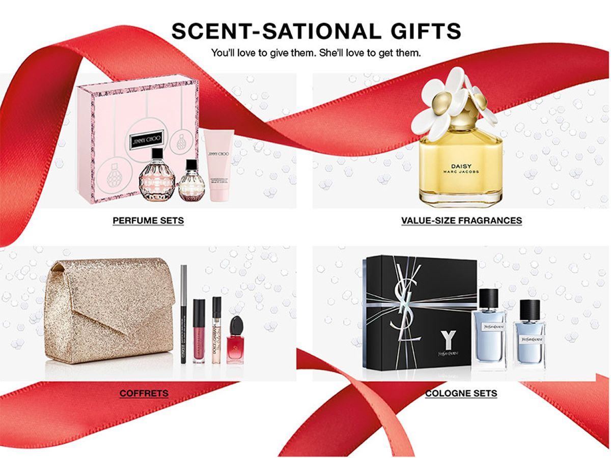 Scent- Sational Gifts, Perfume Sets, Value-Size Fragrances, Coffrets, Cologne Sets