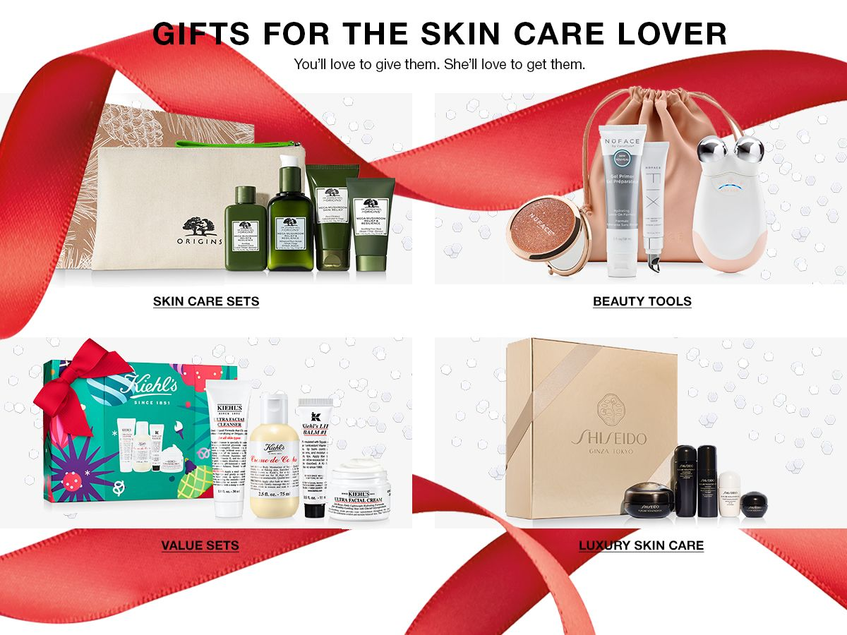 Gifts For The Skin Care Lover, You'll love to give them, She'll love to get them, Skin Care Sets, Beauty Tools, Value Sets, Luxury Skin Care