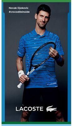 Novok Djokovic, #crocodileinside, Lacoste