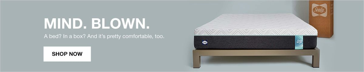 Mind, Blow, A bed? in a box? And it's pretty comfortable, too, Shop Now