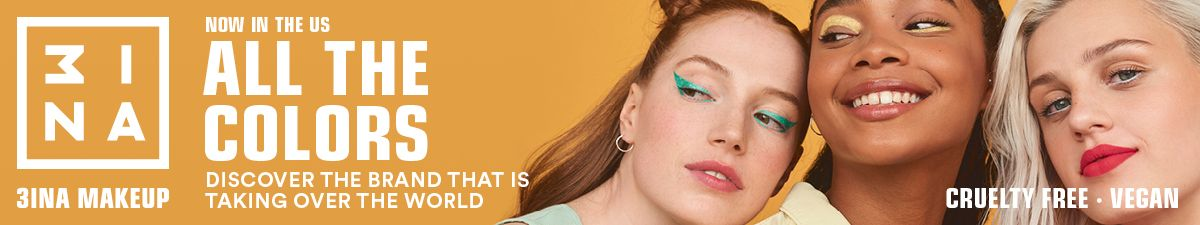 3INA Makeup, Now in the us, All the Colors, Discover the Brand that is taking over the World, Cruelty Free, Vegan