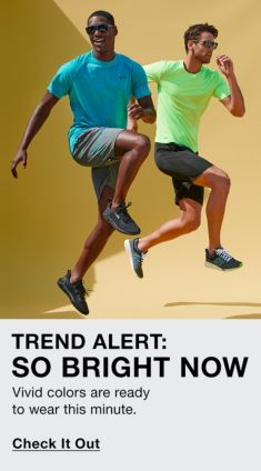 Trend Alert: So Bright Now, Vivid colors are ready to wear this minute, Check it Out