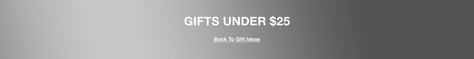 Gifts Under $25, Back To Gift Ideas