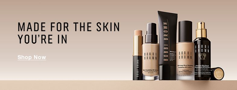 Made for the skin you're in, Shop Now