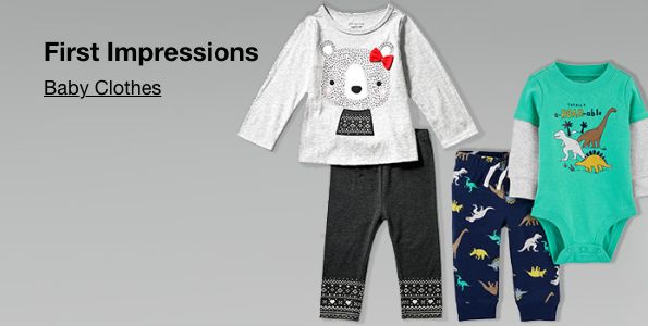 First Impressions, Baby Clothes