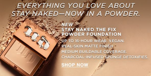 Everything You Love About Stay Naked-Now in a Powder, Shop Now